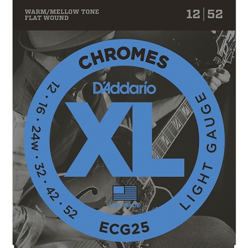 D'addario XL Chromes Light (.012-.052)