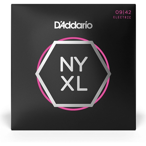 D'addario Nyxl Super Light Guitar Set 9-42