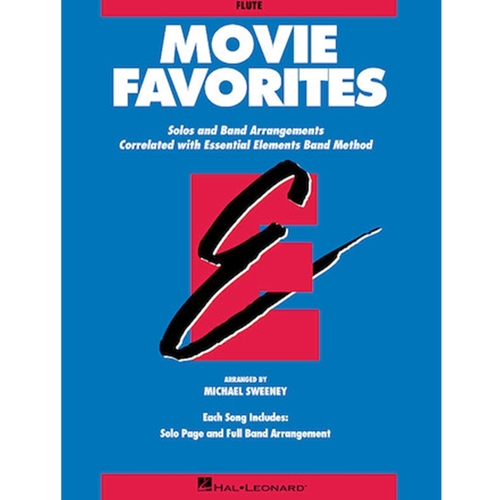MOVIE FAVORITES  (ESSENTIAL ELEMENTS) - FLUTE