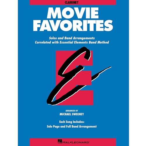 MOVIE FAVORITES (ESSENTIAL ELEMENTS) - CLARINET