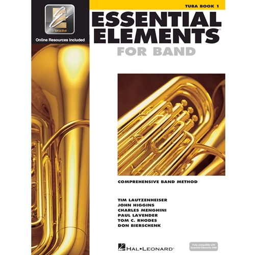 Essential Elements: Book 1 - Tuba - Book W/ Eei
