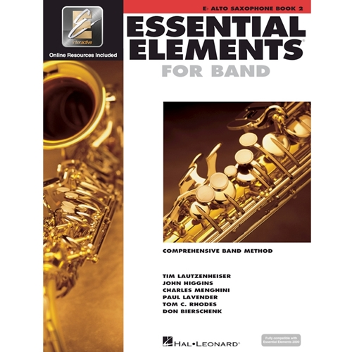 Essential Elements 2000: Book 2 - Alto Sax - w/ EEi