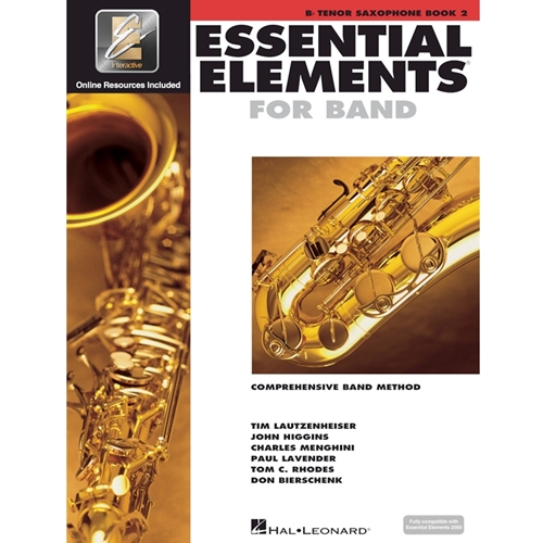 Essential Elements 2000: Book 2 - Tenor Sax - w/ EEi