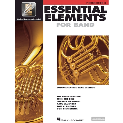 Essential Elements 2000: Book 2 - F Horn - w/ EEi