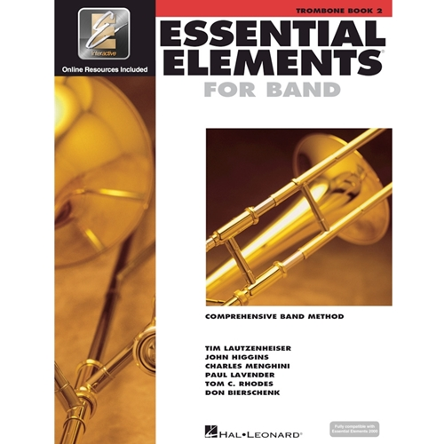 Essential Elements 2000: Book 2 - Trombone - w/ EEi