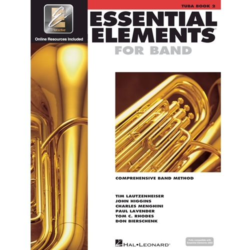 Essential Elements 2000: Book 2 - Tuba - w/ EEi