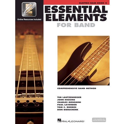 Essential Elements 2000: Book 2 - Electric Bass w/ EEi