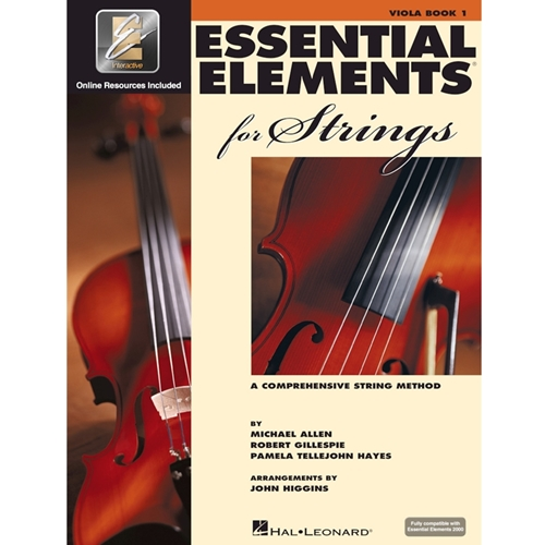 Essential Elements For Strings: Book 1 - Viola - Book W/ Eei