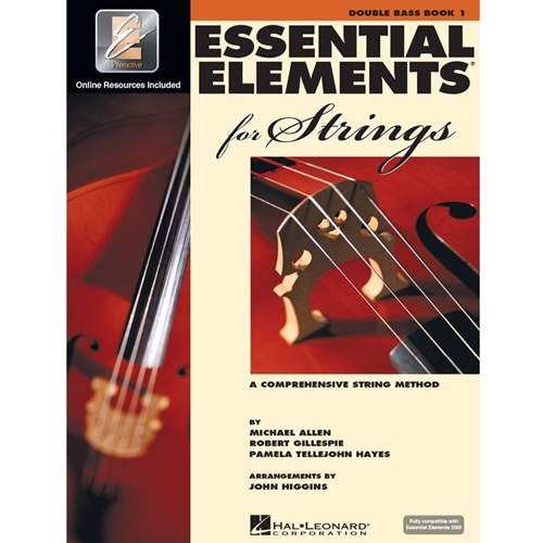 Essential Elements For Strings: Book 1 - String Bass - W/ Eei