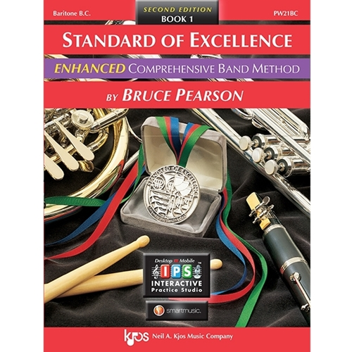 Standard Of Excellence Enhanced: Book 1 - Baritone Horn (Bass Clef)