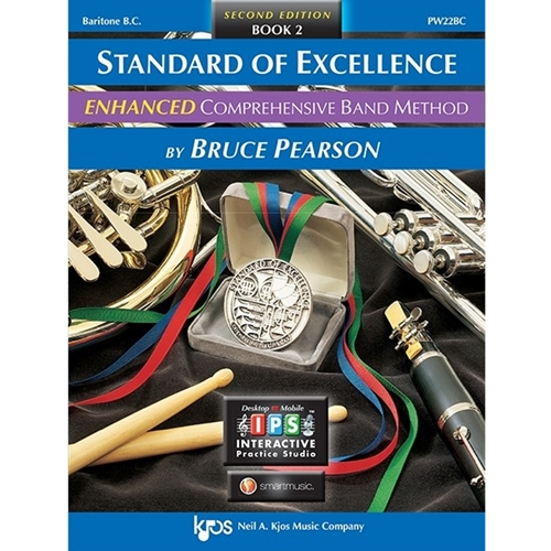 Standard Of Excellence Enhanced: Book 2 - Baritone Horn (Bass Clef)