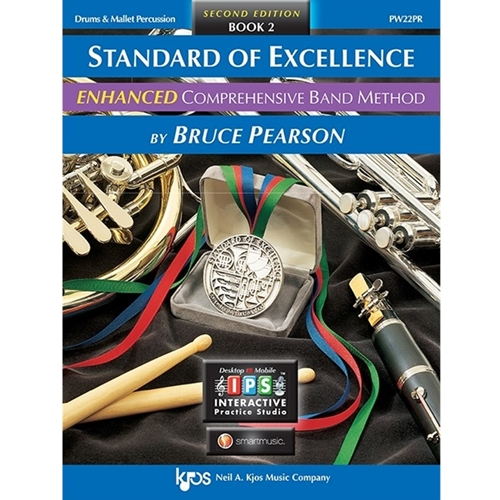 Standard Of Excellence Enhanced: Book 2 - Drums & Mallet Percussion