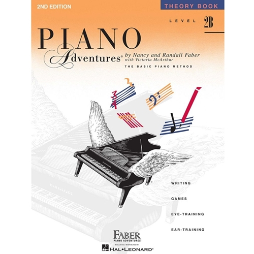 Faber Piano Adventures: Level 2b - Theory