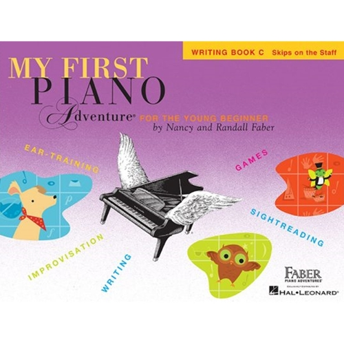 Faber My First Piano Adventure: Writing Book C