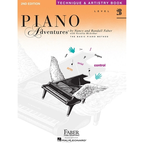 Faber Piano Adventures: Level 2b - Technique & Artistry