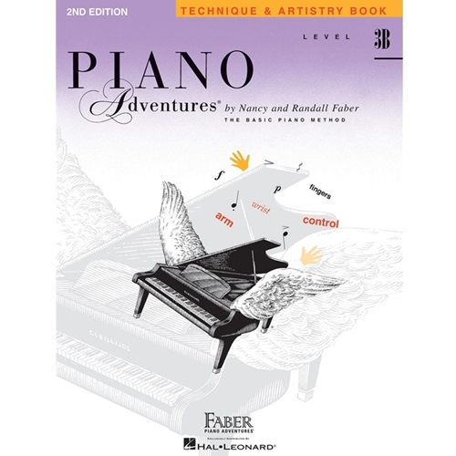 Faber Piano Adventures: Level 3b - Technique & Artistry