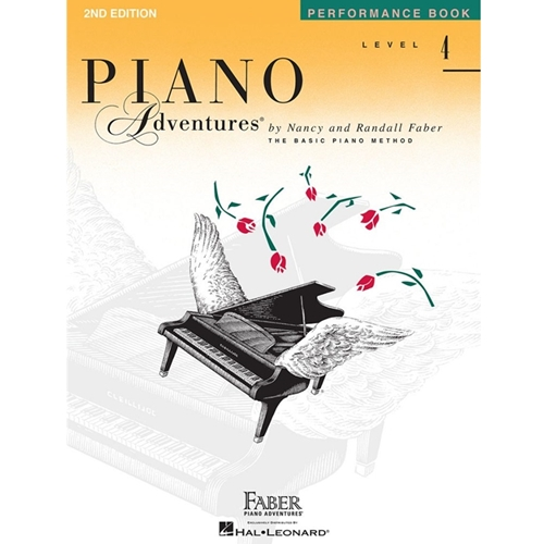 Faber Piano Adventures: Level 4 - Performance