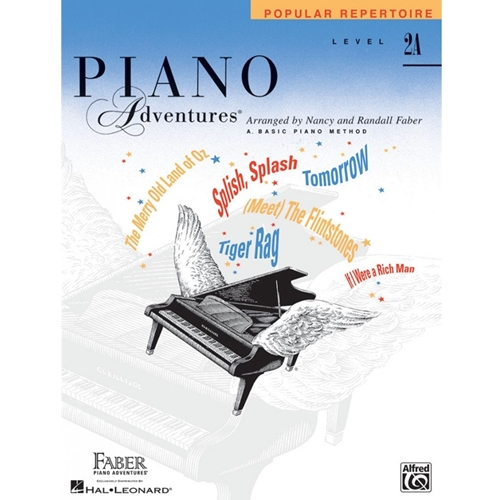 Faber Piano Adventures: Level 2a - Popular Repertoire