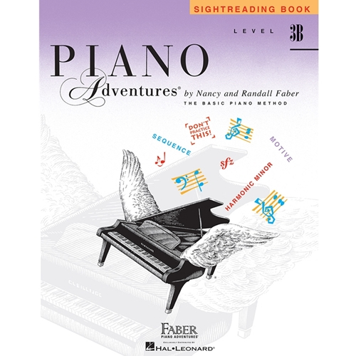 Faber Piano Adventures: Sightreading - Level 3b