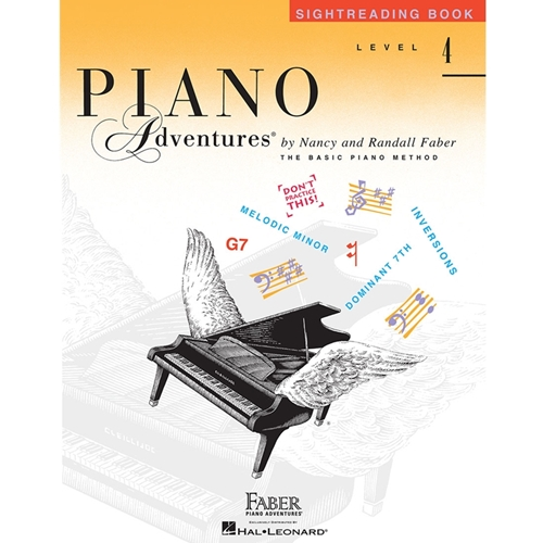 Faber Piano Adventures: Sightreading - Level 4