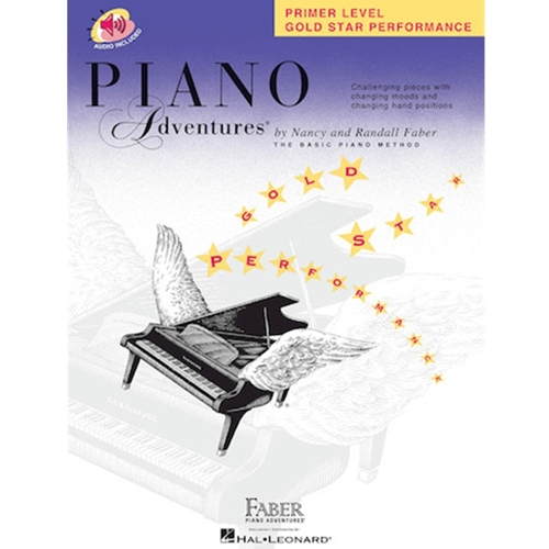 Faber Piano Adventures: Primer Level - Gold Star Performance - W/audio access