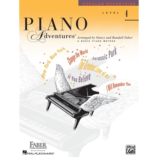 Faber Piano Adventures: Level 4 - Popular Repertoire