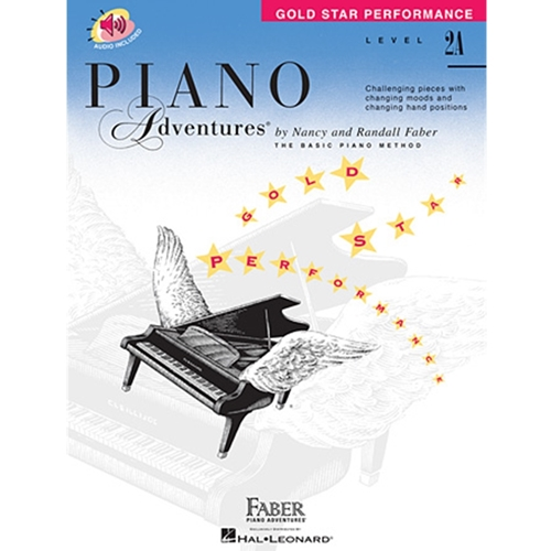 Faber Piano Adventures: Level 2a - Gold Star Performance - W/audio access