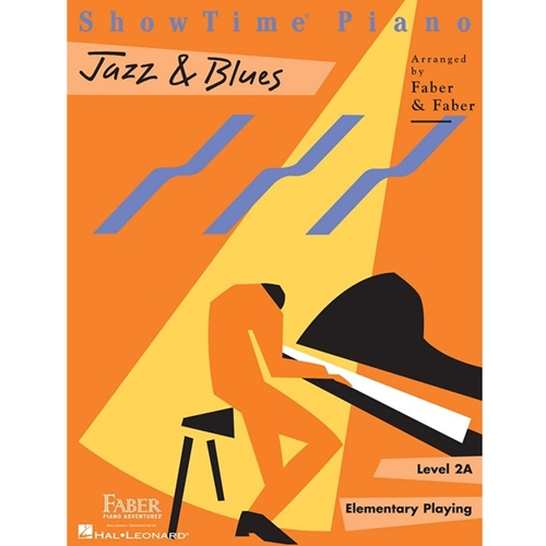 Faber: Showtime Piano - Level 2a - Jazz & Blues