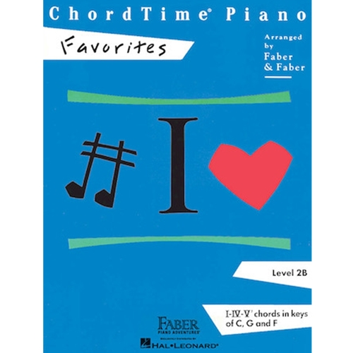 Faber: Chordtime Piano - Level 2b - Favorites