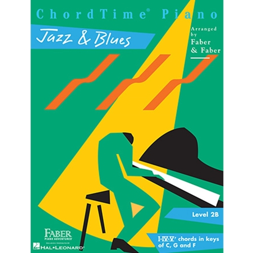 Faber: Chordtime Piano - Level 2b - Jazz & Blues