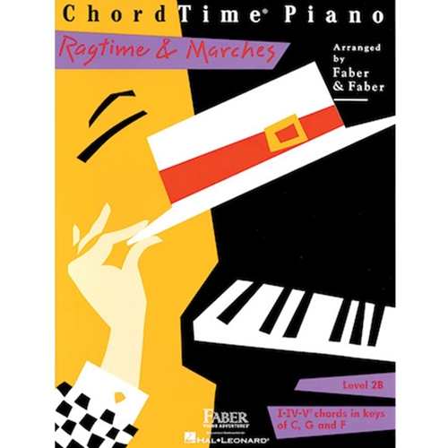 Faber: Chordtime Piano - Level 2b - Ragtime & Marches