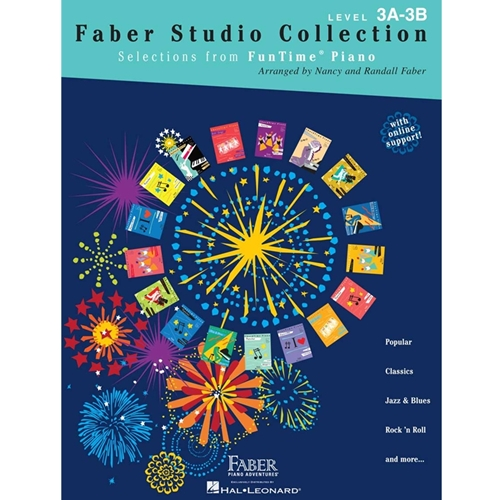 Faber Studio Collection - Selections From Funtime Piano - 3a-3b