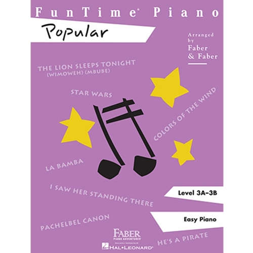 Faber: Funtime Piano - Level 3a-3b - Popular