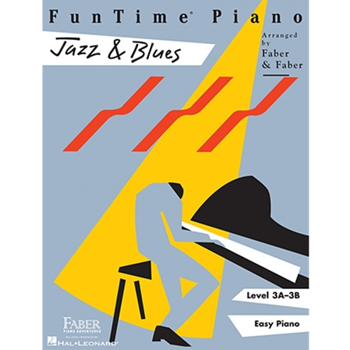 Faber: Funtime Piano - Level 3a-3b - Jazz & Blues