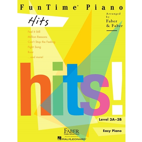 FABER: FUNTIME PIANO HITS!  - LEVEL 3A-3B