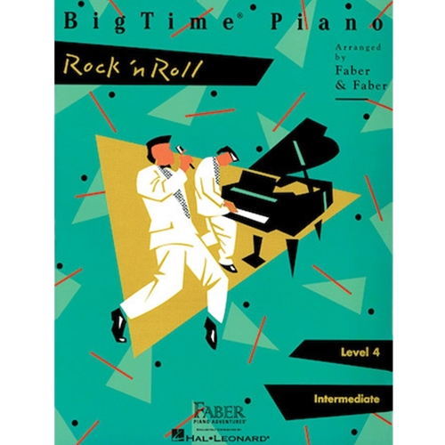 Faber: Bigtime Piano - Rock 'n Roll - Level 4 Intermediate