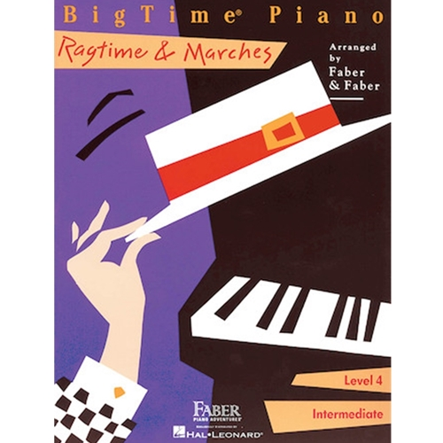 Faber: Bigtime Piano - Level 4 - Ragtime & Marches