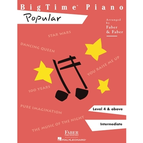 Faber: Bigtime Piano - Popular - Level 4