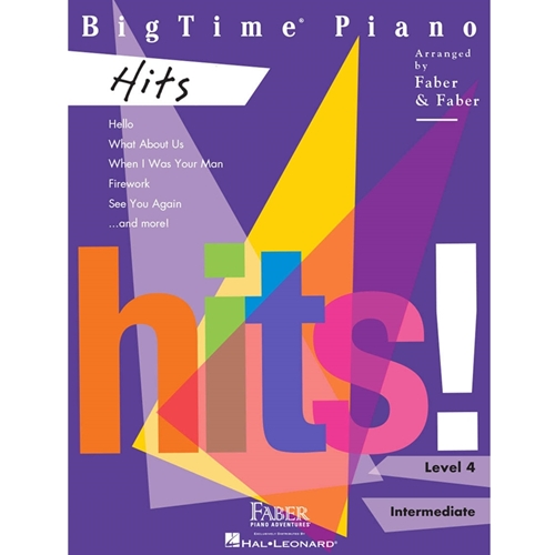 FABER: BIGTIME PIANO HITS - LEVEL 4