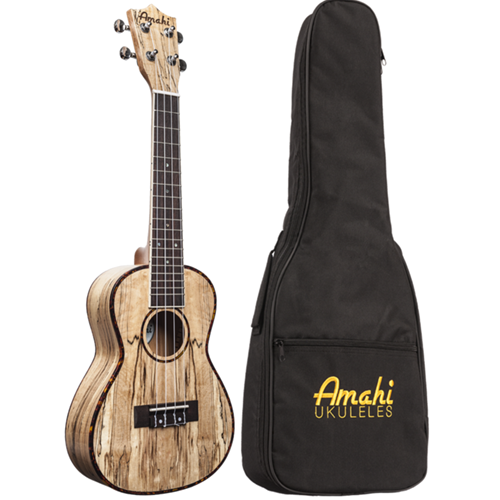 Amahi UK770C Spalted Maple Concert Ukulele