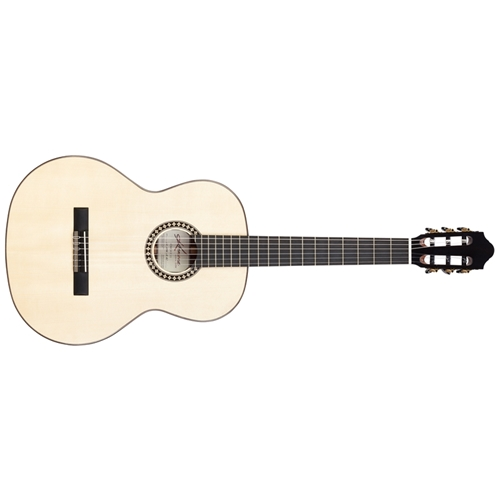 Kremona Romida Classical Guitar Spruce Top Rosewood Back and Sides Ebony Fingerboard with Deluxe Hard Case Factory B Stock