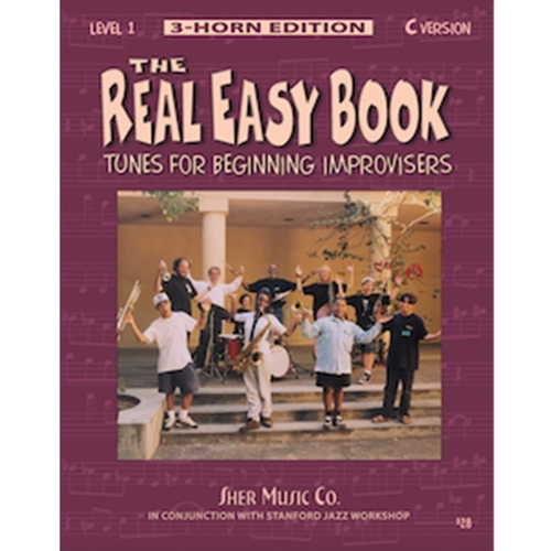 The Real Easy Book: - 3 Horn Ed. Level 1 - C