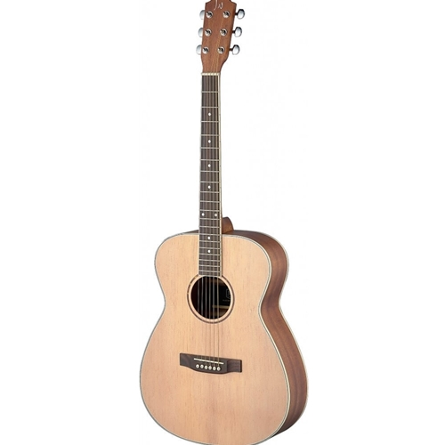 J.N Guitars Asyla Series Auditorium Acoustic Guitar with Solid Spruce Top Left Hand Model